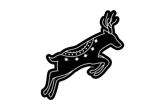 Download Free Scandinavian Reindeer Scandinavian Style Svg Cut File By for Cricut Explore, Silhouette and other cutting machines.