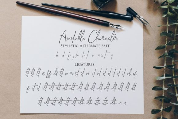 Print on Demand: Sella Callista Script & Handwritten Font By Gilar Studio - Image 10