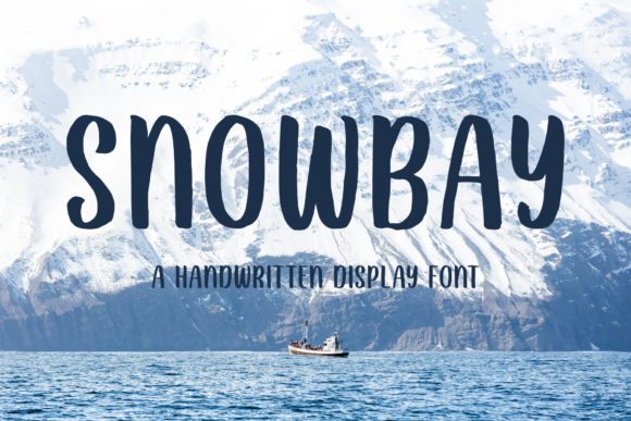 Print on Demand: Snowbay Script & Handwritten Font By Sibelumpagi Studio