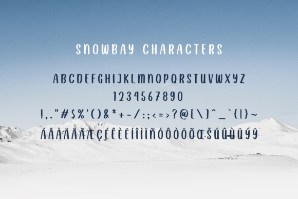 Print on Demand: Snowbay Script & Handwritten Font By Sibelumpagi Studio - Image 8