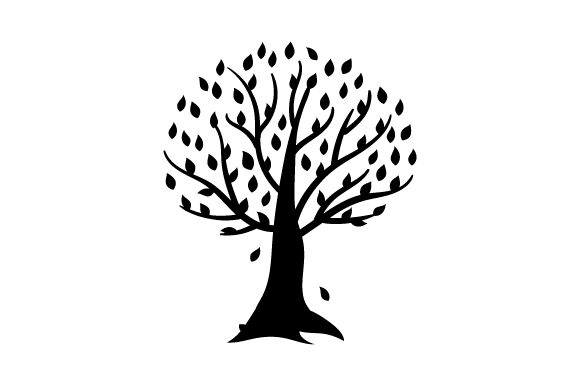 Download Free Tree With Orange And Red Leaves Svg Cut File By Creative Fabrica for Cricut Explore, Silhouette and other cutting machines.