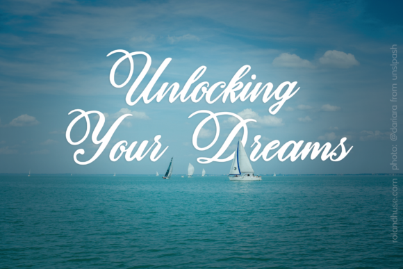 Unlocking Your Dreams Script & Handwritten Font By Roland Hüse