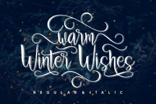 Warm Winter Wishes Script & Handwritten Font By Rifki (7ntypes)