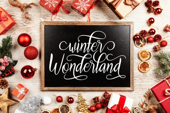 Print on Demand: Warm Winter Wishes Script & Handwritten Font By Rifki (7ntypes) - Image 3