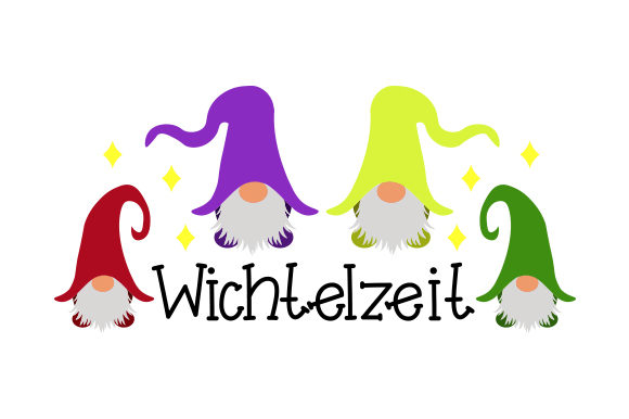 Wichtelzeit Craft Design von Creative Fabrica Crafts