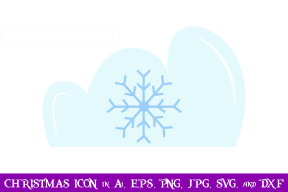 Download Free Snow Christmas Icon Graphic By Purplespoonpirates Creative Fabrica for Cricut Explore, Silhouette and other cutting machines.