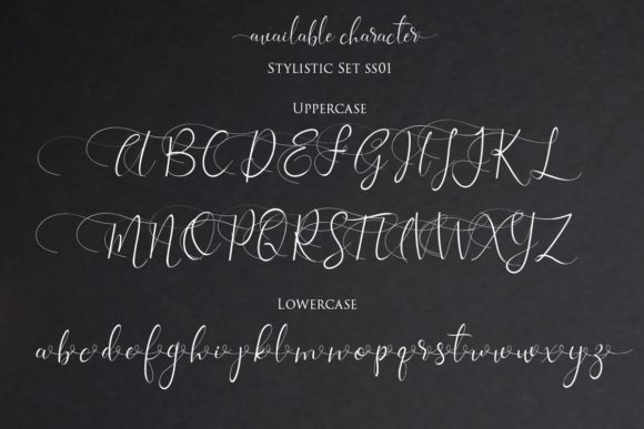 Print on Demand: Isabela Script & Handwritten Font By Gilar Studio - Image 9