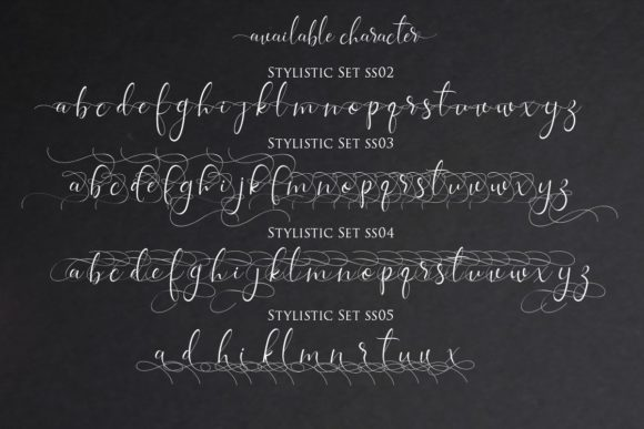Print on Demand: Isabela Script & Handwritten Font By Gilar Studio - Image 10
