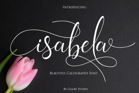 Print on Demand: Isabela Script & Handwritten Font By Gilar Studio