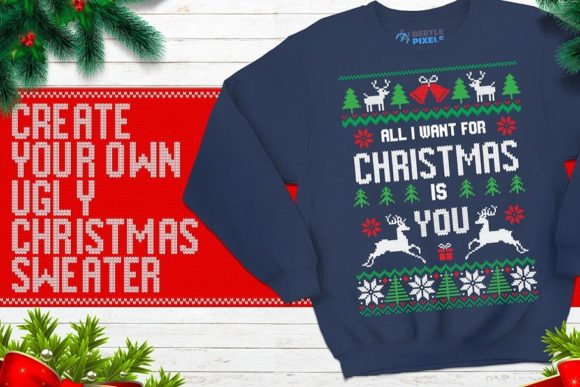 My Ugly Christmas Font By svgsupply Image 2