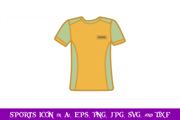 Download Free Jersey Volleyball Sport Icon Graphic By Purplespoonpirates for Cricut Explore, Silhouette and other cutting machines.