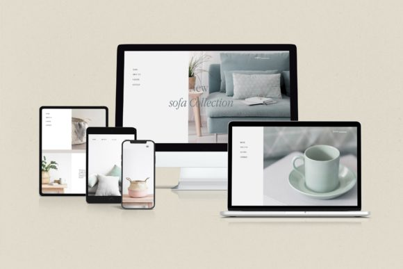 Multi Device Responsive Mockup Graphic Product Mockups By Graphicbars