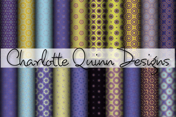 Print on Demand: Digital Papers 310 Graphic Patterns By Digital Pattern Club