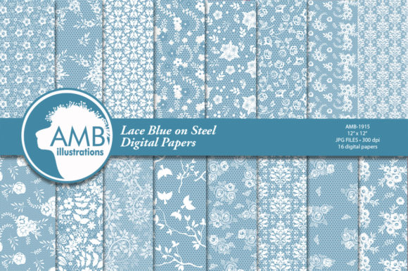 Download Free Shabby Chic Lace Digital Papers Amb 1915 Graphic By for Cricut Explore, Silhouette and other cutting machines.
