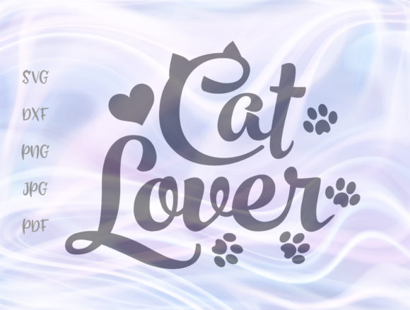 Cat Lover Sign Graphic By Digitals by Hanna