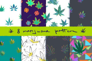 CannaPatterns Graphic Patterns By AlenaO