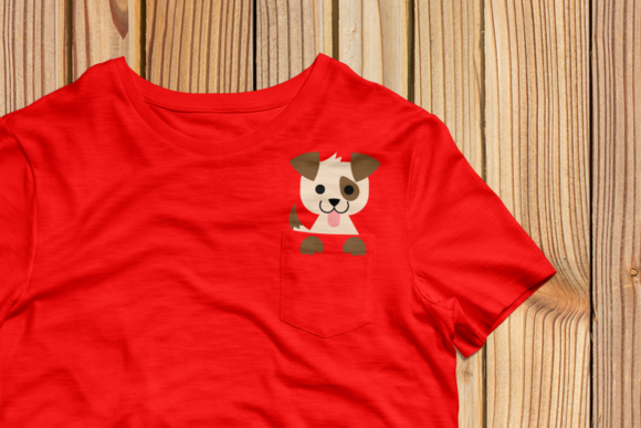 Pocket Dog SVG Graphic By RisaRocksIt