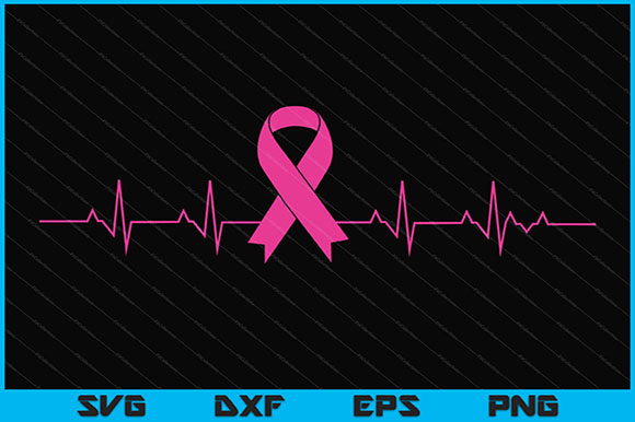 Download Free Breast Cancer Svg Design Graphic By Artistcreativedesign for Cricut Explore, Silhouette and other cutting machines.