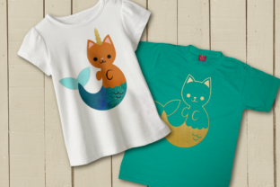 Download Free Purrmaid Icorn Cat Mermaid Graphic By Risarocksit Creative Fabrica for Cricut Explore, Silhouette and other cutting machines.