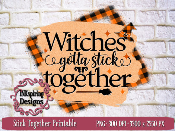 Download Free Witches Stick Together Sublimation Graphic By Inkspiring Designs SVG Cut Files