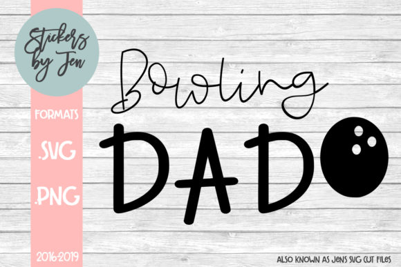 Download Free Bowling Dad Svg Graphic By Jens Svg Cut Files Creative Fabrica for Cricut Explore, Silhouette and other cutting machines.