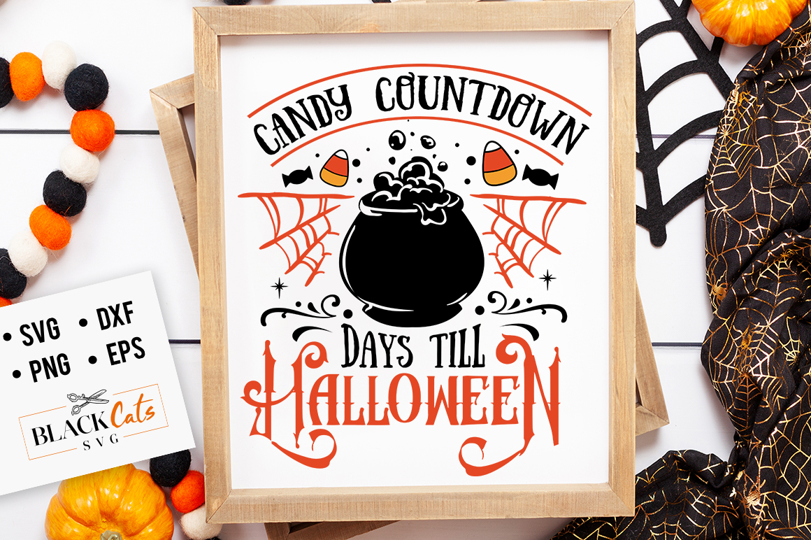 Download Free Candy Countdown Graphic By Blackcatsmedia Creative Fabrica for Cricut Explore, Silhouette and other cutting machines.