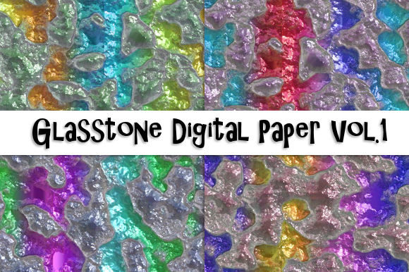 Download Free Glasstone Digital Paper Vol 1 Graphic By Tamara Widitz for Cricut Explore, Silhouette and other cutting machines.