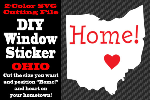 Download Free Ohio 2 Color Svg Cutting File Graphic By Idrawsilhouettes SVG Cut Files