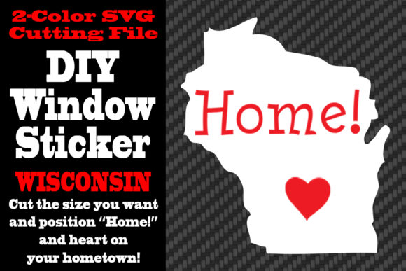 Download Free Wisconsin 2 Color Svg Cutting File Graphic By Idrawsilhouettes for Cricut Explore, Silhouette and other cutting machines.