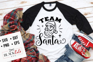 Download Free Team Santa Graphic By Blackcatsmedia Creative Fabrica for Cricut Explore, Silhouette and other cutting machines.