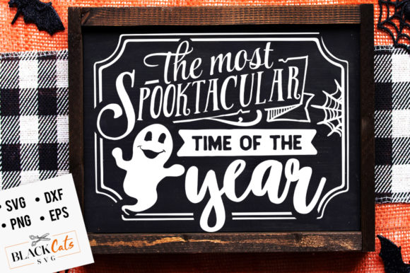 The Most Spooktacular Time of the SVG Graphic Crafts By BlackCatsMedia