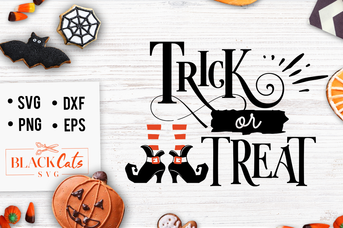 Trick or Treat SVG (Graphic) by sssilent_rage · Creative ...
