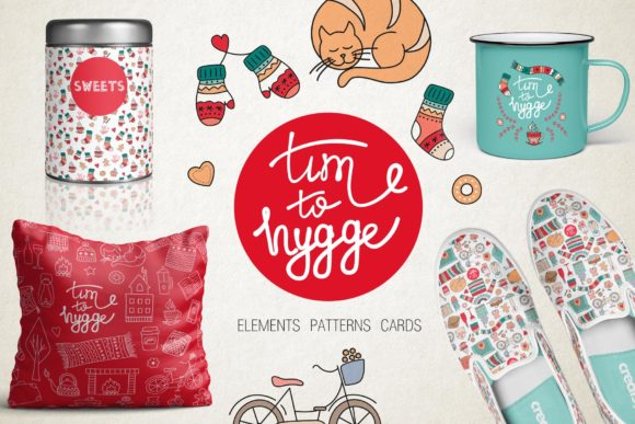 Hygge Collection Graphic Illustrations By Alisovna - Image 1