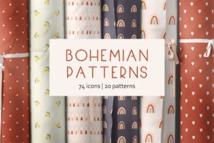 Bohemian Patterns Graphic By Alisovna