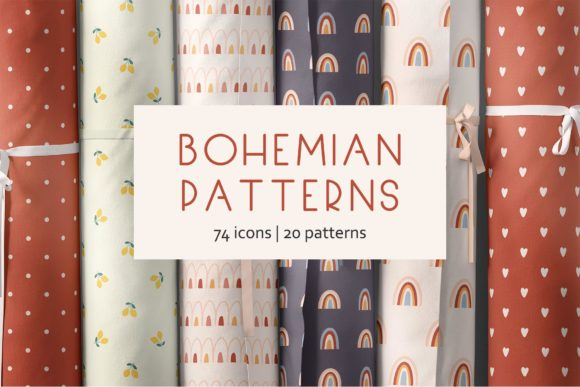 Bohemian Patterns Graphic Patterns By Alisovna - Image 1