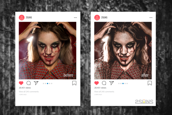 Download Free 9 Joker And Halloween Presets Graphic By 2suns Creative Fabrica for Cricut Explore, Silhouette and other cutting machines.