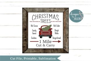 Christmas Trees Graphic By Designs by Jolein