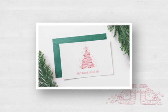 Doodle Christmas Vector Collection Graphic Illustrations By Tatyana_Zenartist - Image 10