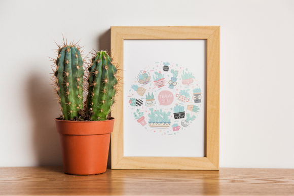 Cute Cactus Set Graphic Illustrations By Alisovna - Image 14