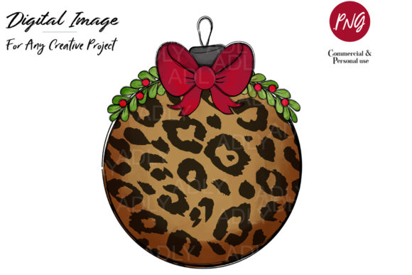 Print on Demand: Christmas Tree Ornament Ball Graphic Illustrations By adlydigital - Image 1