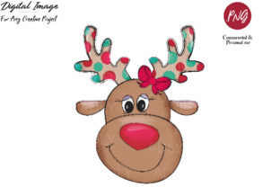 Reindeerclip Art , Christmas Sublimation Graphic By adlydigital