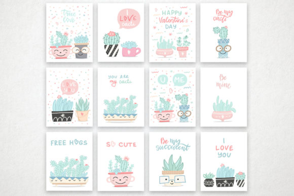 Cute Cactus Set Graphic Illustrations By Alisovna - Image 6