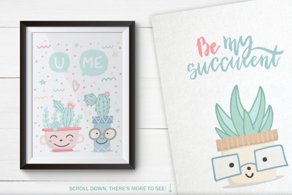 Cute Cactus Set Graphic Illustrations By Alisovna - Image 5