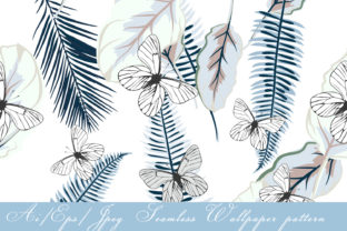 Download Free Seamless Vector Wallpaper Pattern Graphic By Fleurartmariia for Cricut Explore, Silhouette and other cutting machines.
