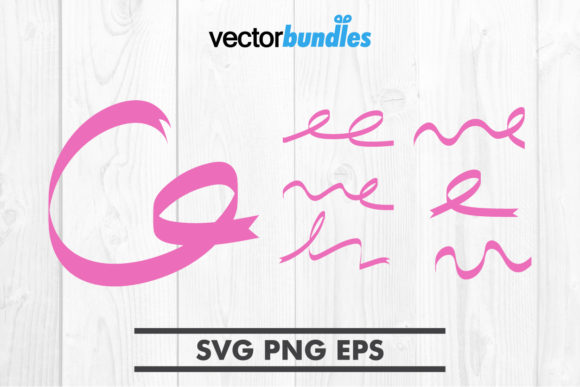 Download Free Pink Ribbon Clip Art Svg Graphic By Vectorbundles Creative Fabrica SVG Cut Files