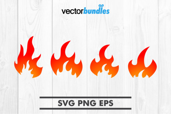 Download Free Flame Clip Art Svg Graphic By Vectorbundles Creative Fabrica for Cricut Explore, Silhouette and other cutting machines.