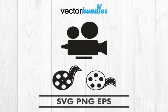 Download Free Video Recorder Clip Art Svg Graphic By Vectorbundles Creative for Cricut Explore, Silhouette and other cutting machines.