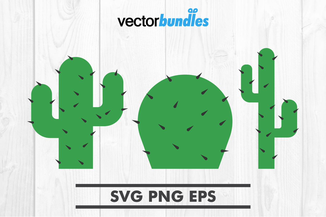 Download Free Cactus Plant Clip Art Svg Graphic By Vectorbundles Creative Fabrica for Cricut Explore, Silhouette and other cutting machines.
