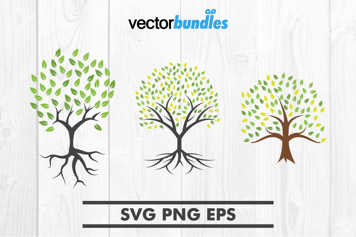 Download Free Tree Clip Art Svg Graphic By Vectorbundles Creative Fabrica for Cricut Explore, Silhouette and other cutting machines.