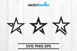 Download Free Star Clip Art Svg Graphic By Vectorbundles Creative Fabrica for Cricut Explore, Silhouette and other cutting machines.